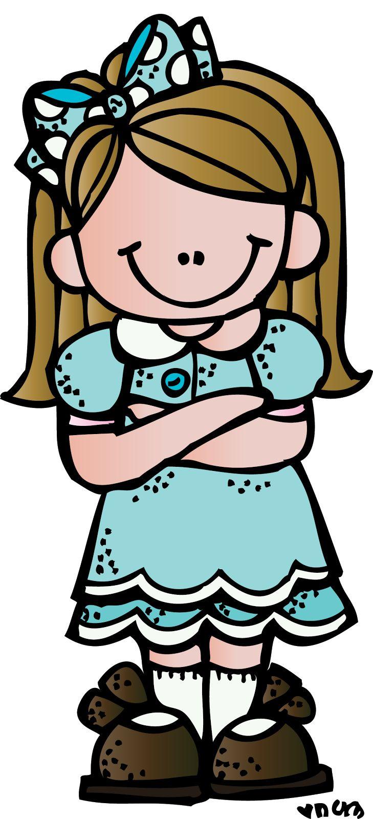 Melonheadz Clipart Girl.