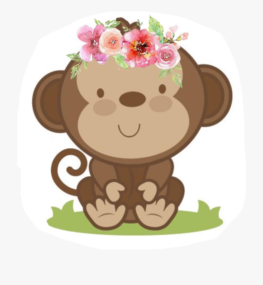 Monkey Girl Png.