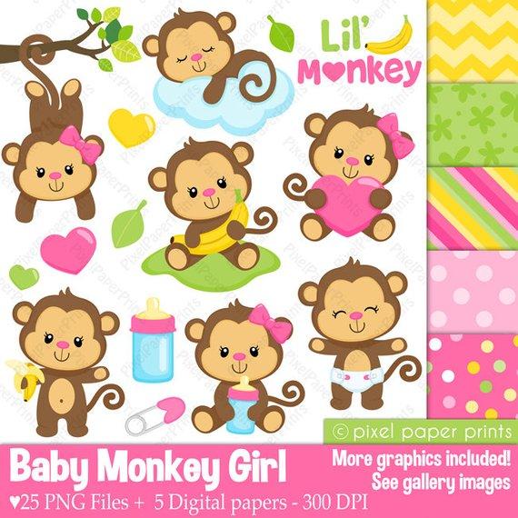 Baby Monkey Girl.