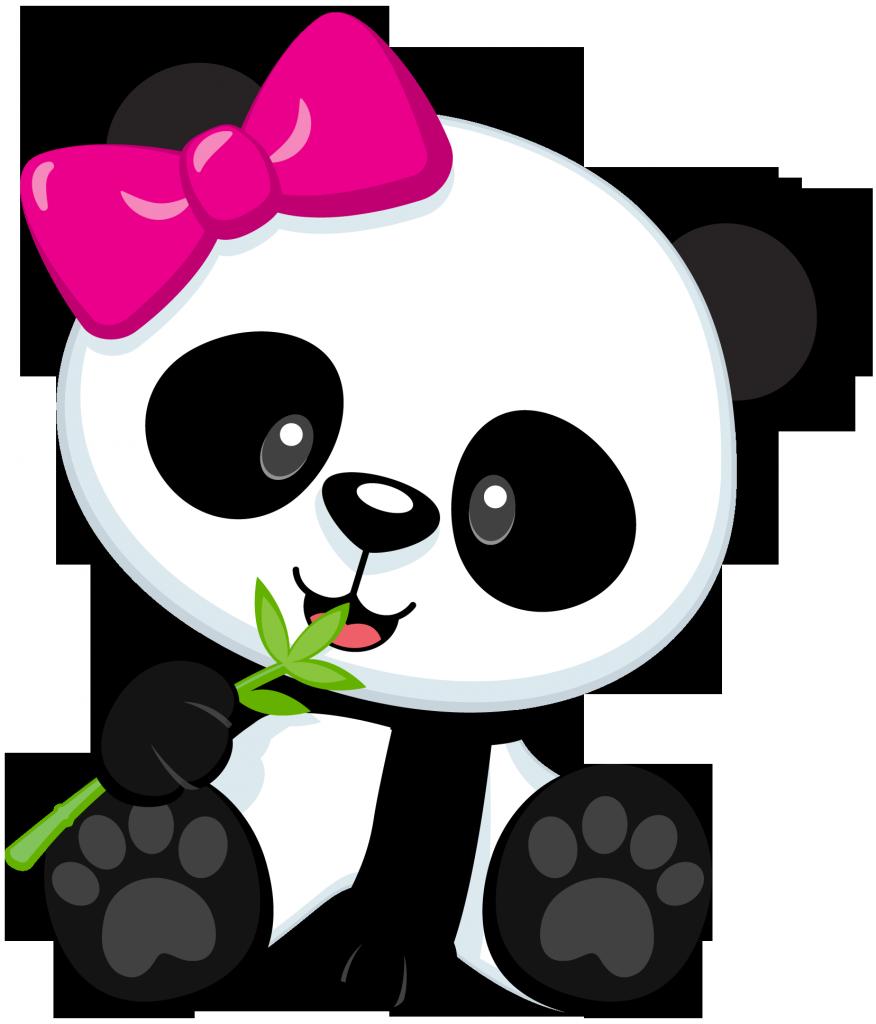 Cute Baby Panda Clipart.