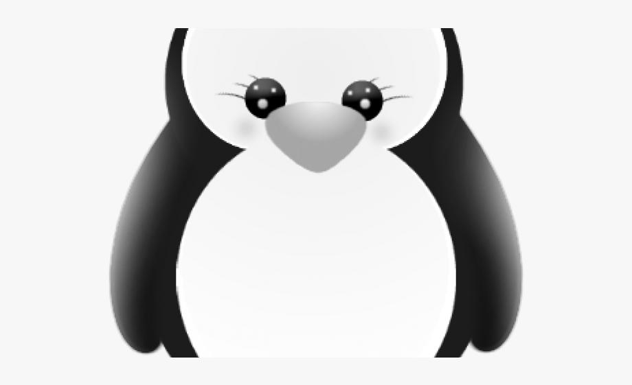 Penguin Clipart Baby Girl.