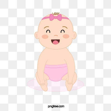 Baby Girl PNG Images.