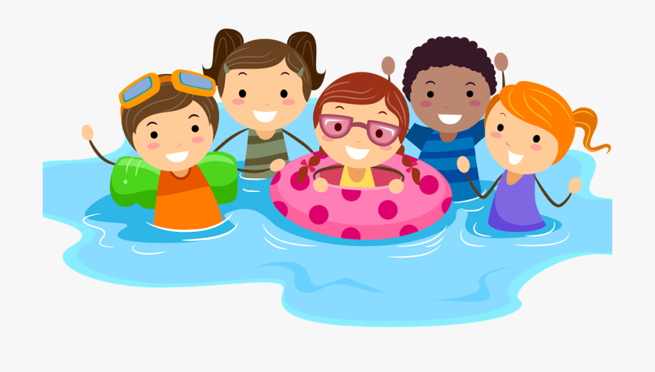 Child Swimming Clipart.