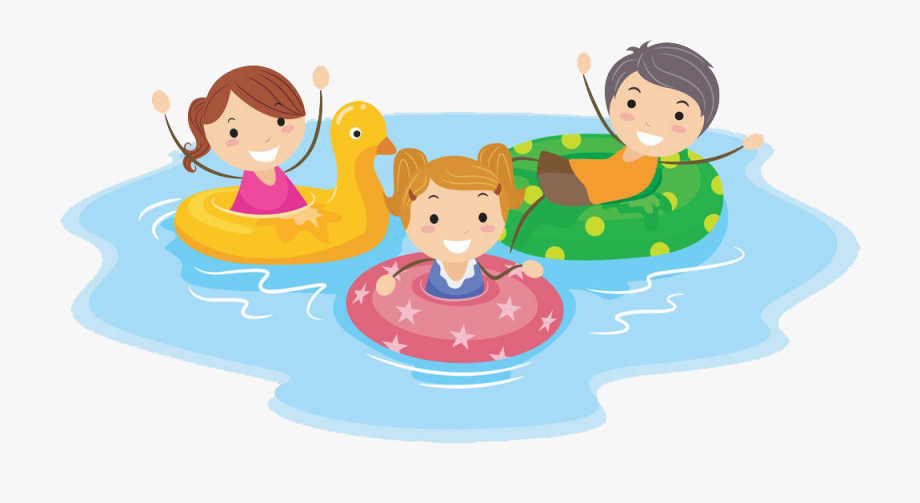 Swimming Pool Cartoon Child Clip Art.