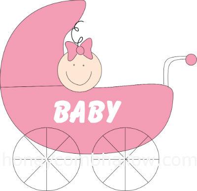 Baby Girl Shower Clipart Excellent Extraordinay 5.