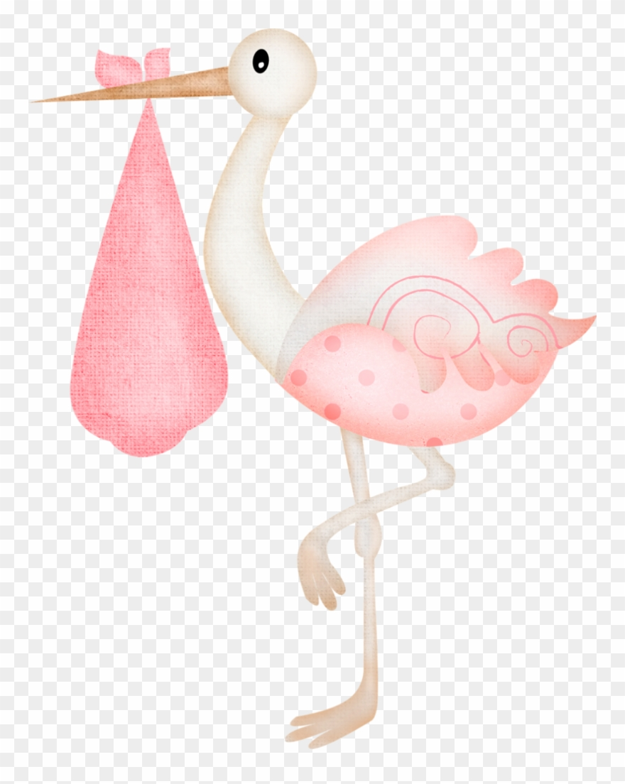 Clipart Stock Clipart Stork Carrying Baby.