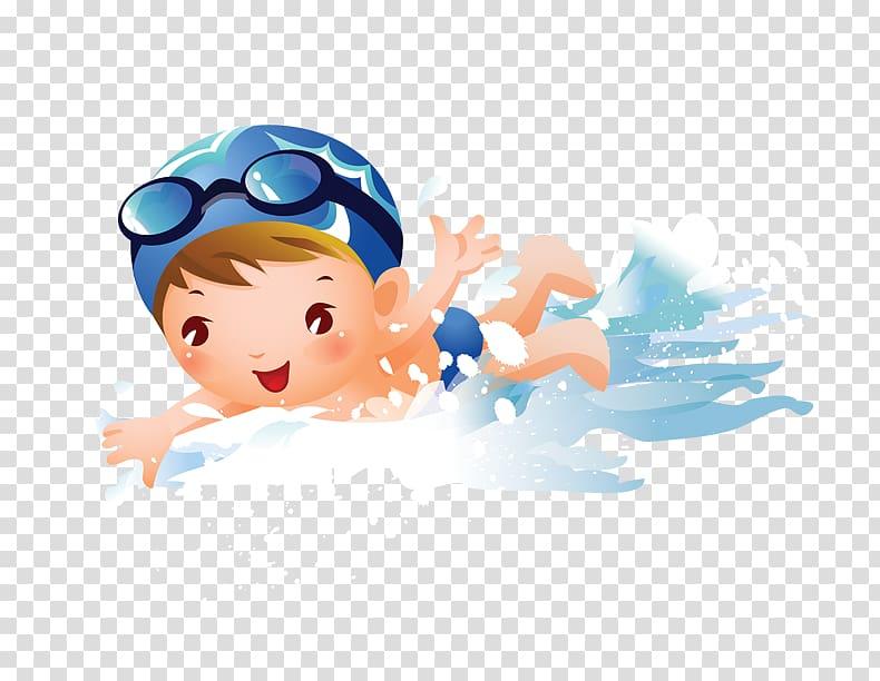 Swimming Child Girl , swimming child, bow swimming.