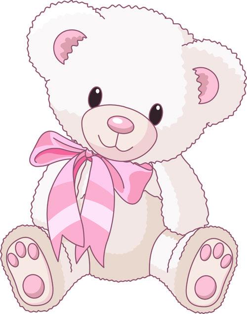 Cute Baby Girl Clip Art.