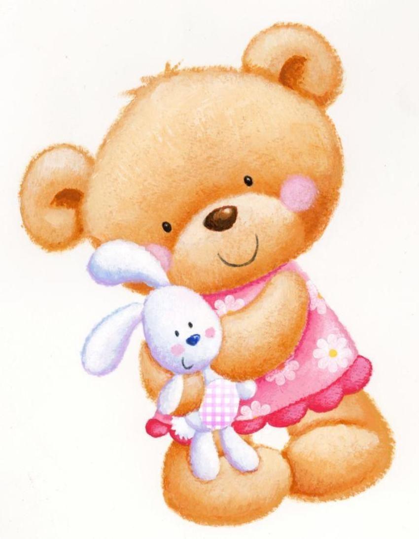 Hannah Wood / cute girl bear.