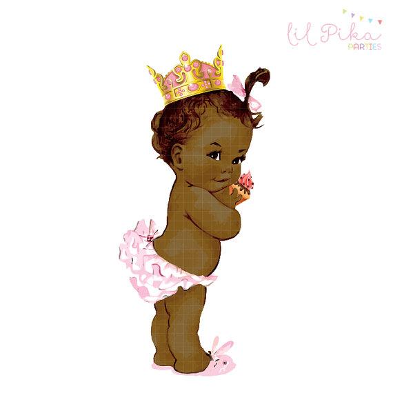 Princess Tutu Baby Girl Clipart.
