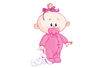 PNG New Baby Girl Transparent New Baby Girl.PNG Images..