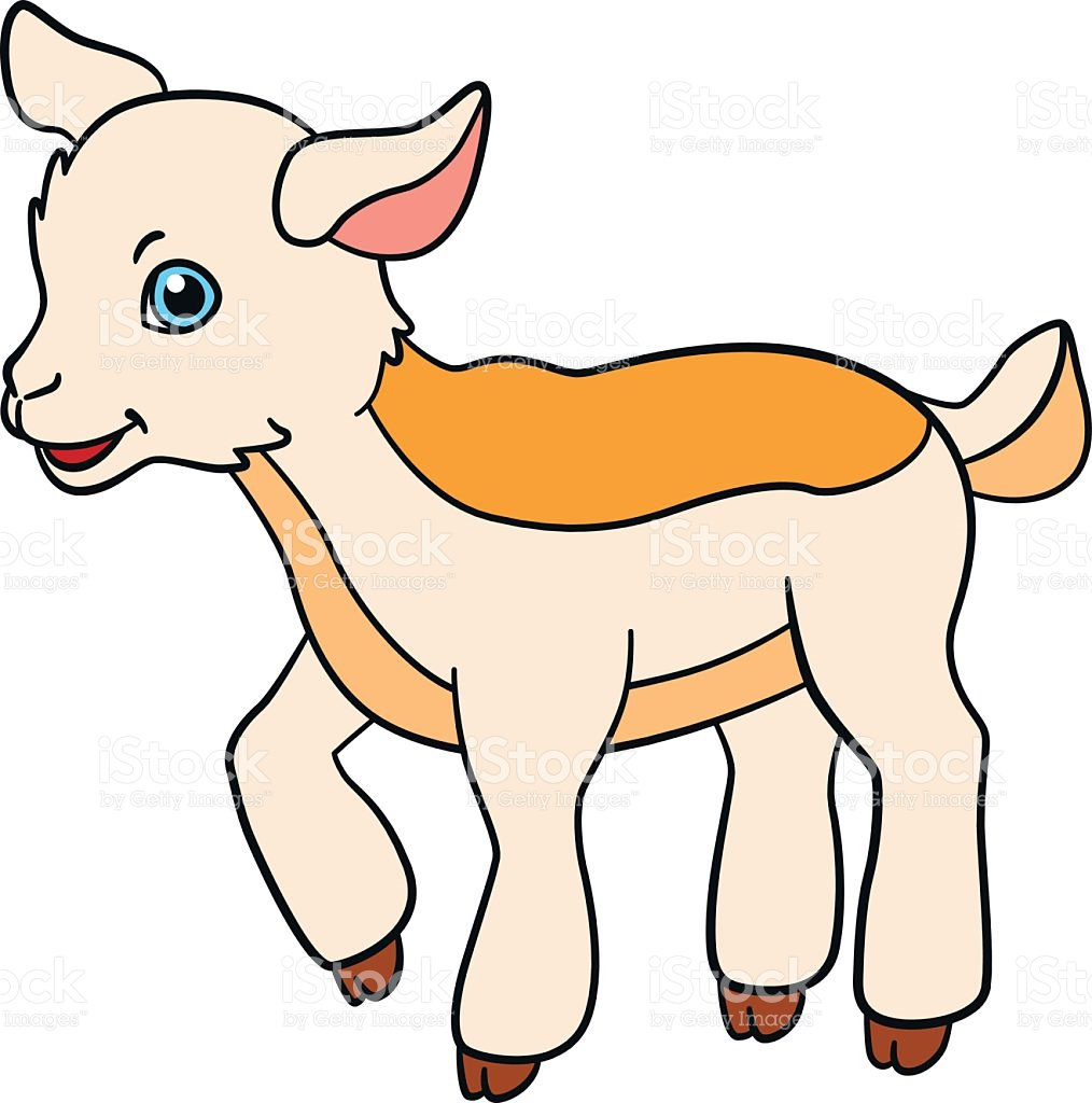 Baby Goat Clipart.