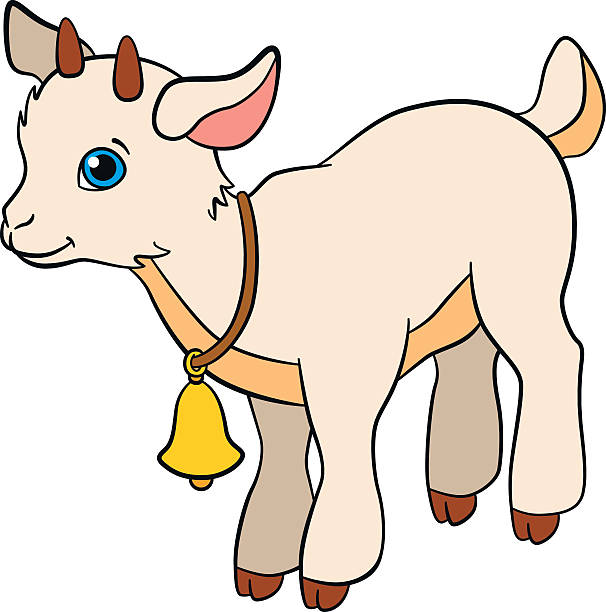 Baby goat clipart » Clipart Station.