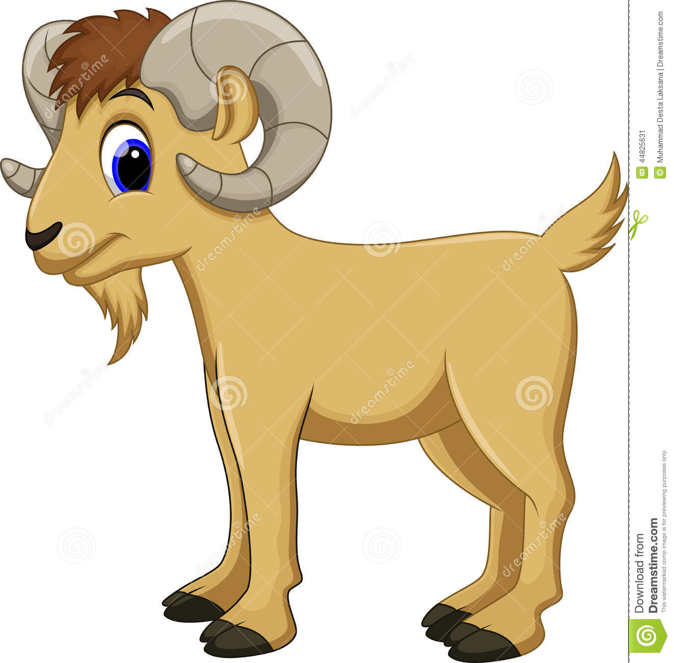 The goat clipart - Clipground