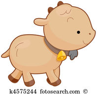 Baby goat clipart #15
