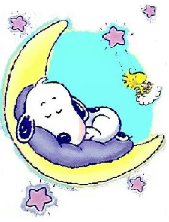 Good Night Snoopy Clipart #1.