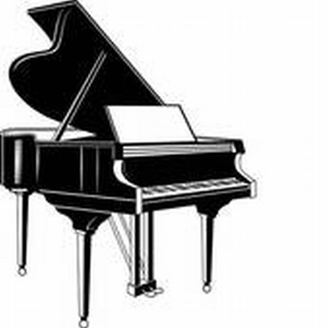 Baby Grand Piano Clip Art.
