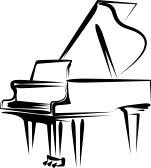 Baby Grand Piano Clipart.
