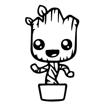 Baby Groot Clipart (90+ images in Collection) Page 3.
