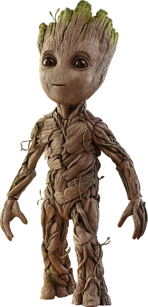 Marvel Groot Sixth Scale Figure by Hot Toys.