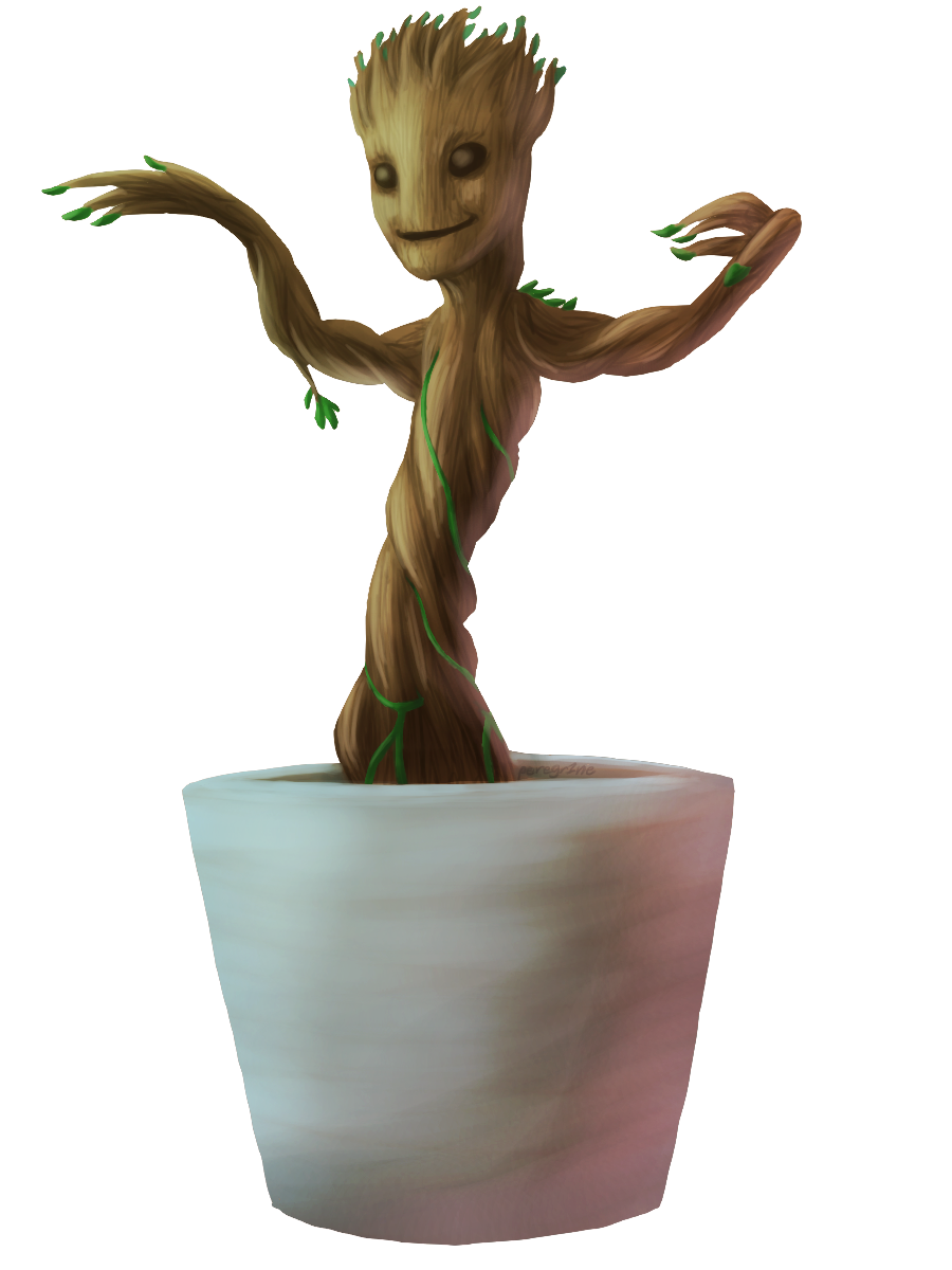 Download Baby Groot PNG HD.