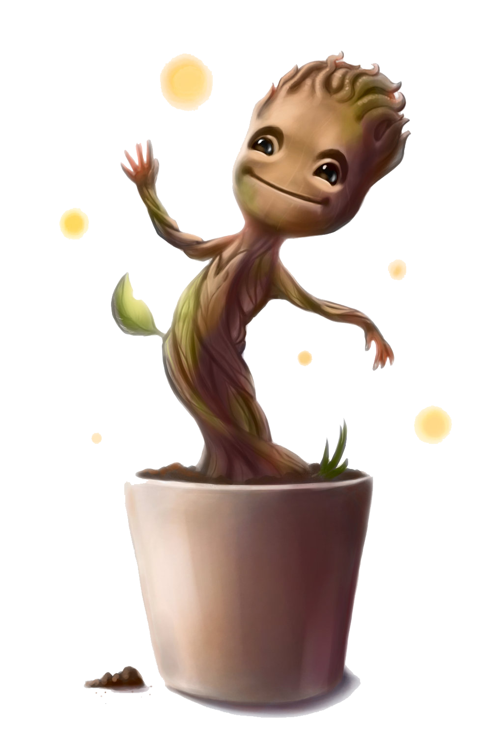 Download Baby Groot Transparent Image HQ PNG Image.