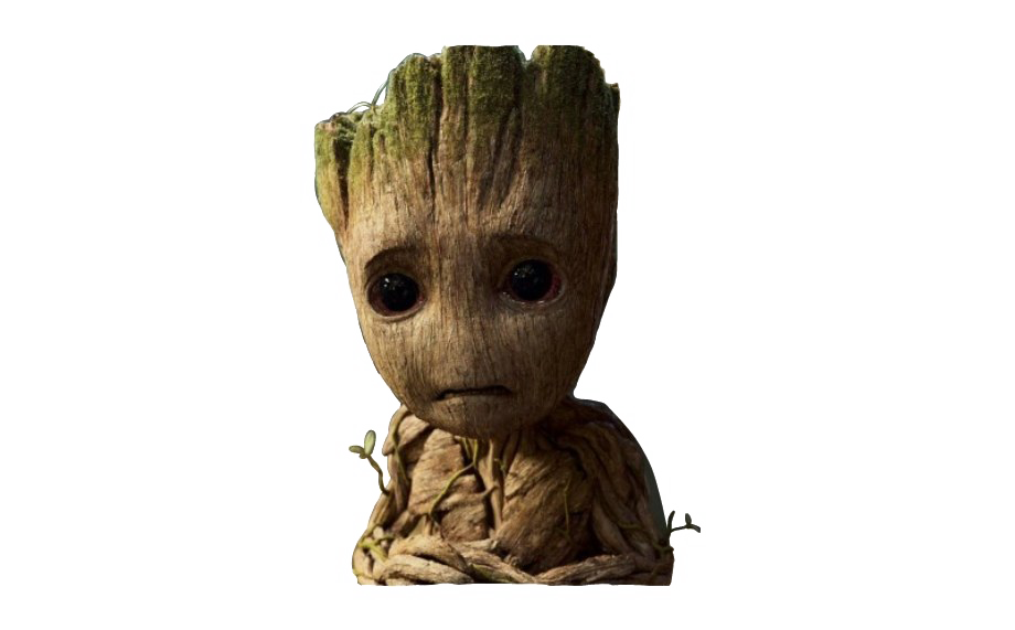 Baby Groot PNG Free Download.