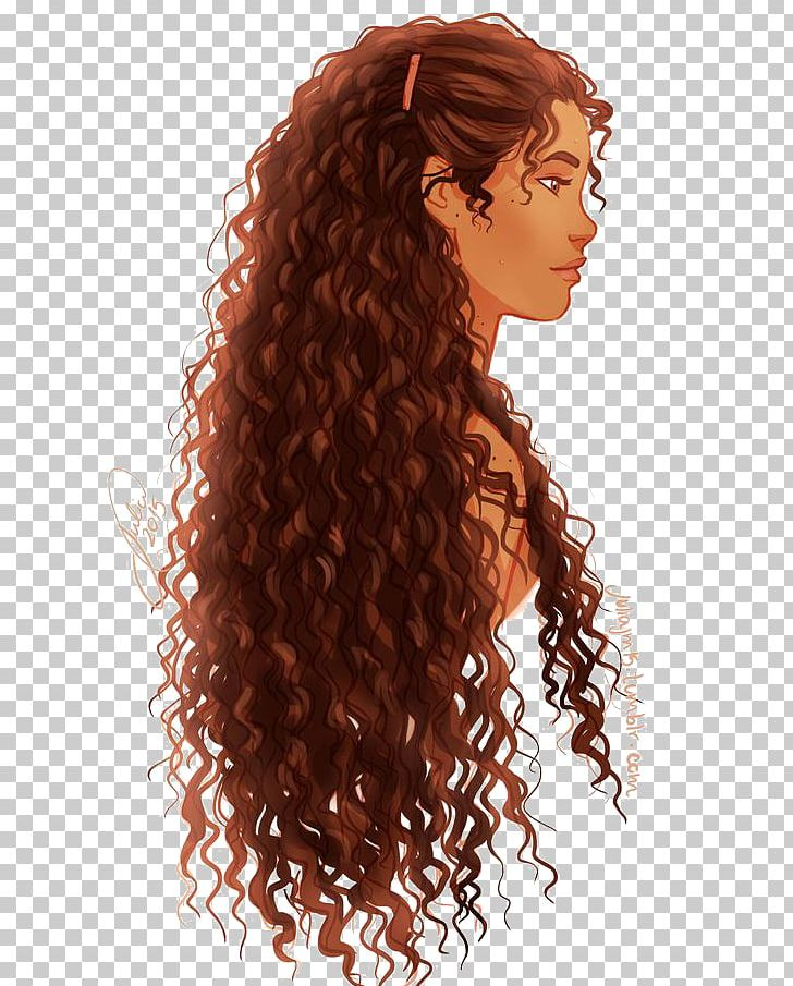 Hairstyle Drawing Hair Coloring Afro.