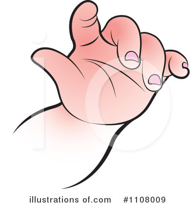 Baby Hand Clipart #1108009.