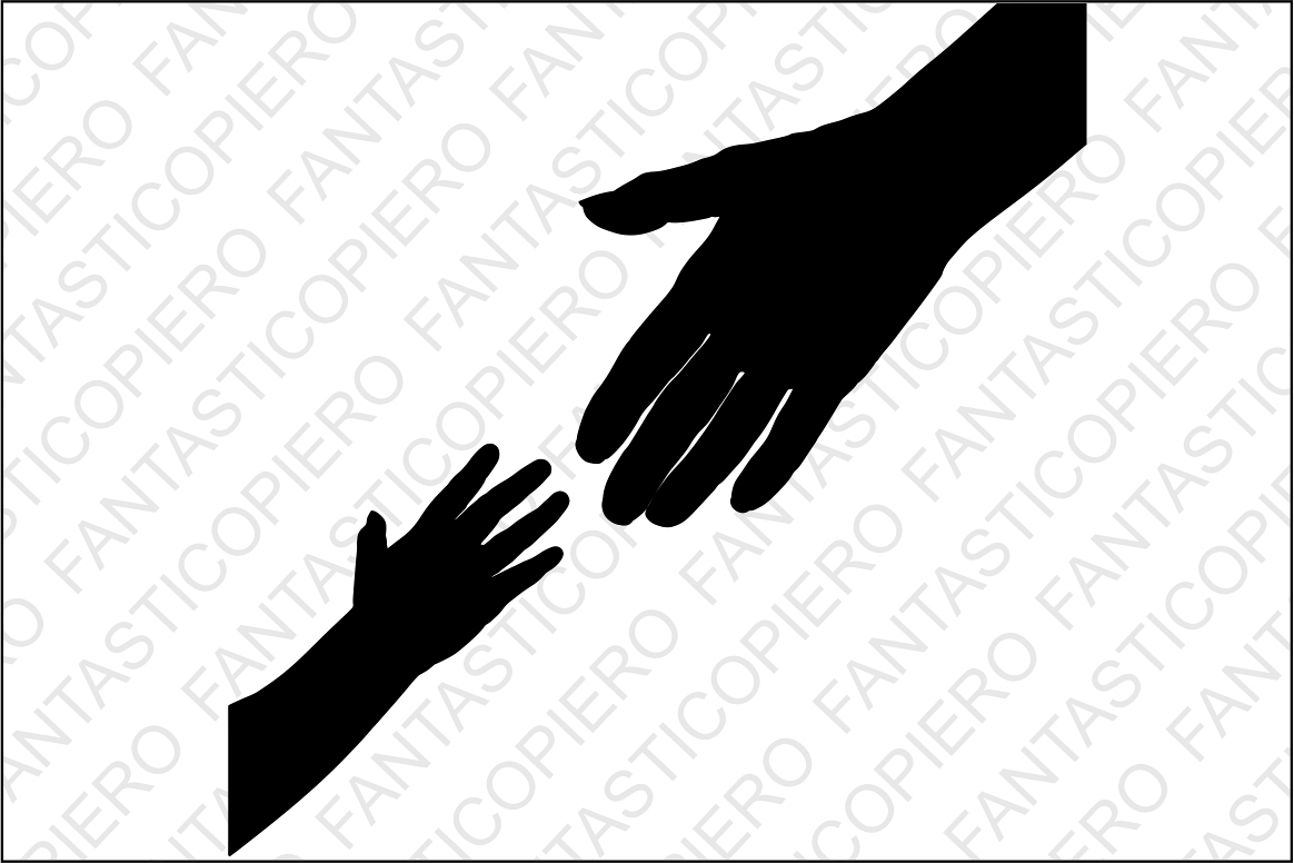 Mother and baby hands SVG files for Silhouette Cameo and Cricut. Mother and  baby hands clipart PNG included. Mother's Day SVG, Hands svg.