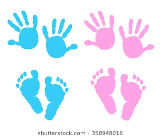 Baby hands and feet clipart 4 » Clipart Station.