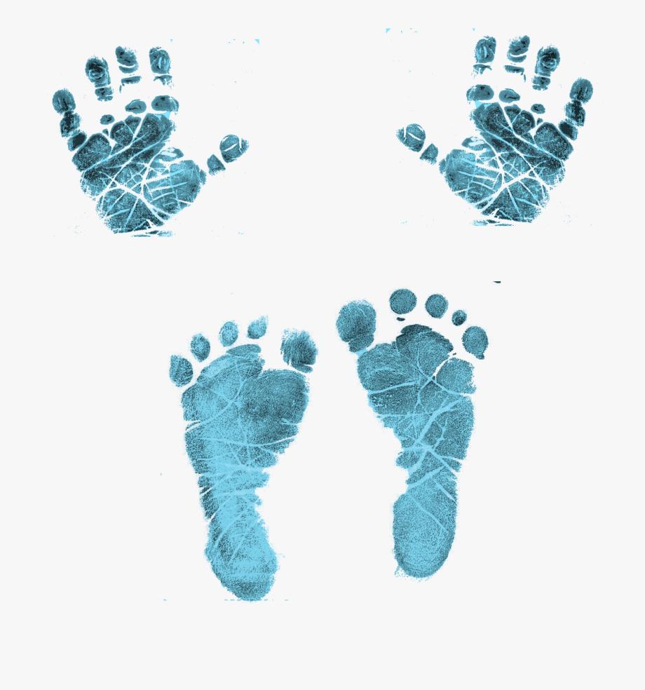 Handprint Clipart Newborn Baby.