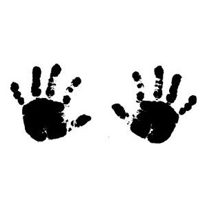 Blade Rubber Stamps PSX PSX Rubber stamps baby hands.