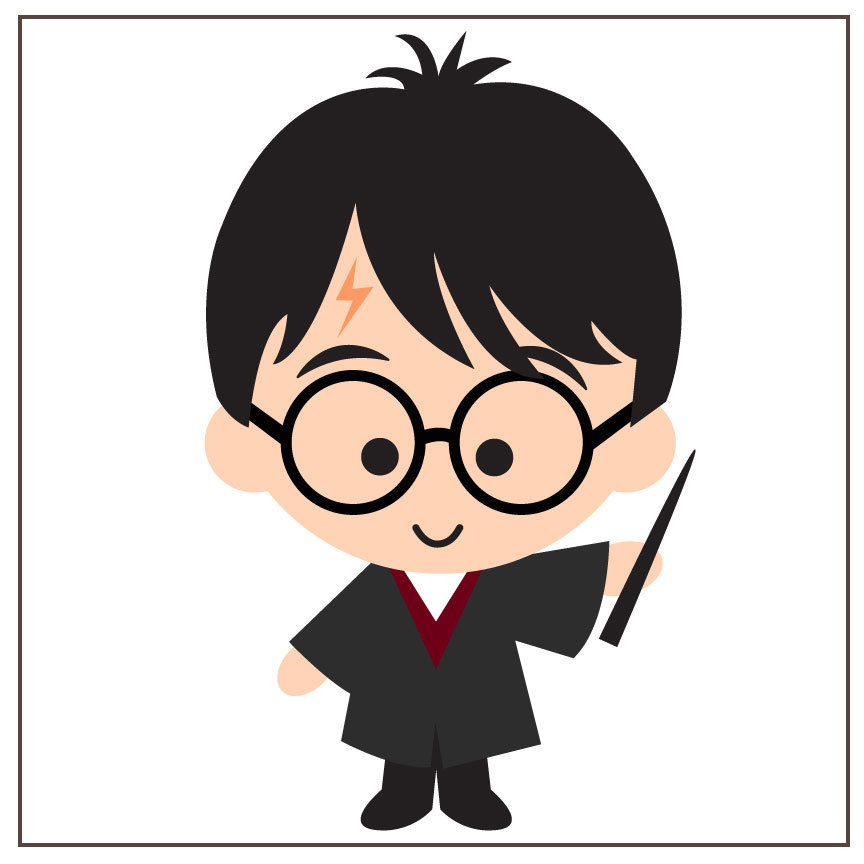 4758 Harry Potter free clipart.