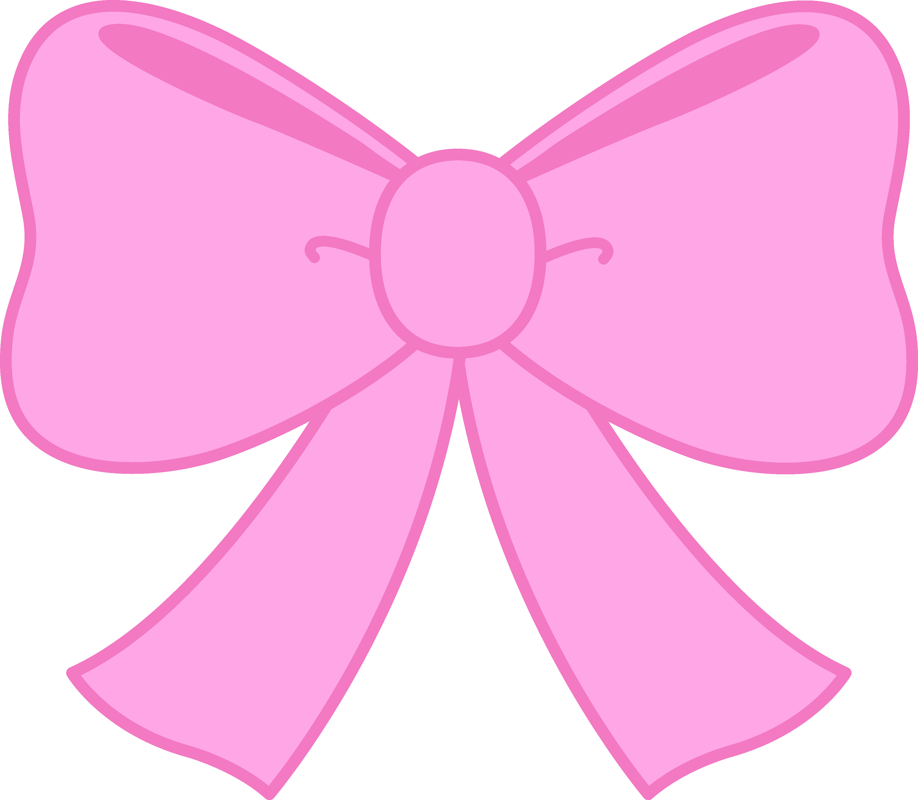 Bow Pink Clipart.