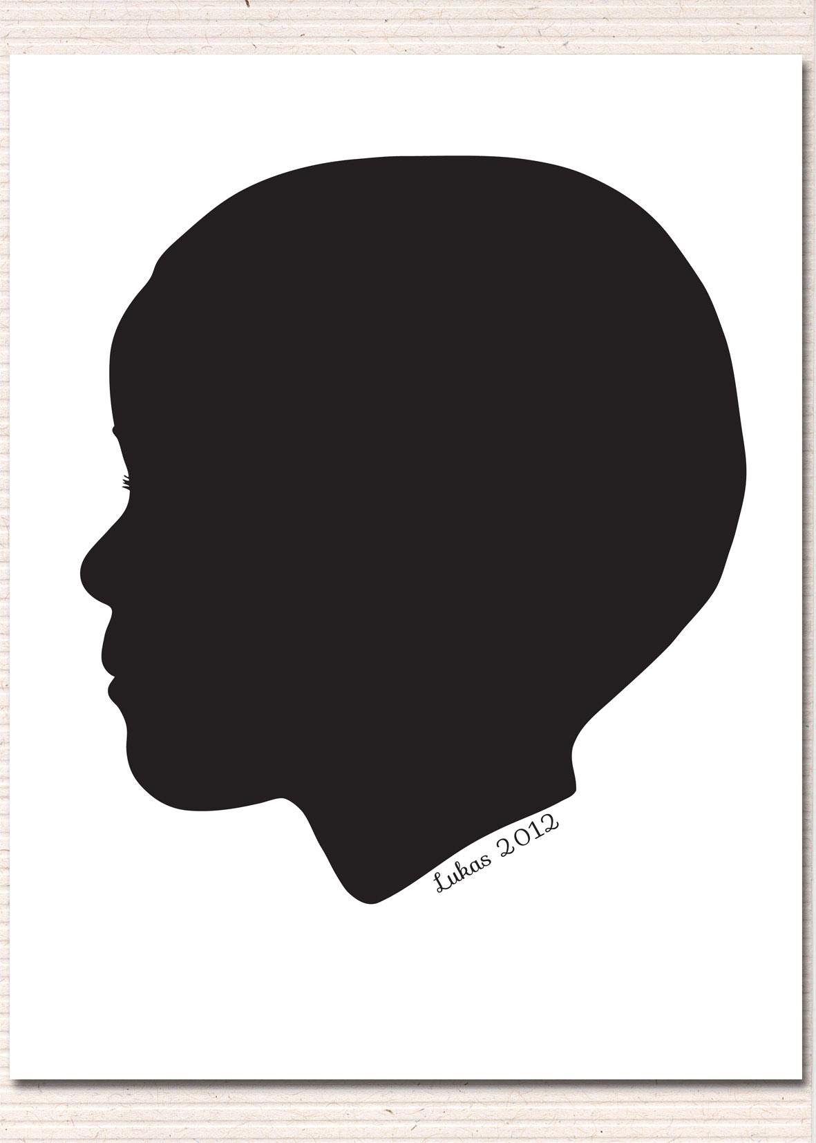 Free Silhouette Boy Head, Download Free Clip Art, Free Clip.