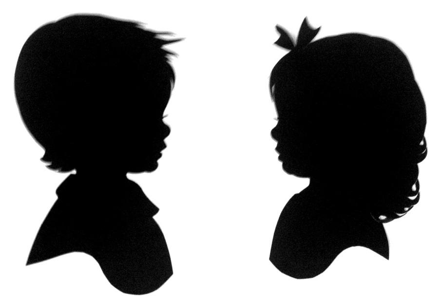 Free Child Head Silhouette, Download Free Clip Art, Free.
