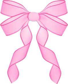 Pink Baby Ribbon Clipart.