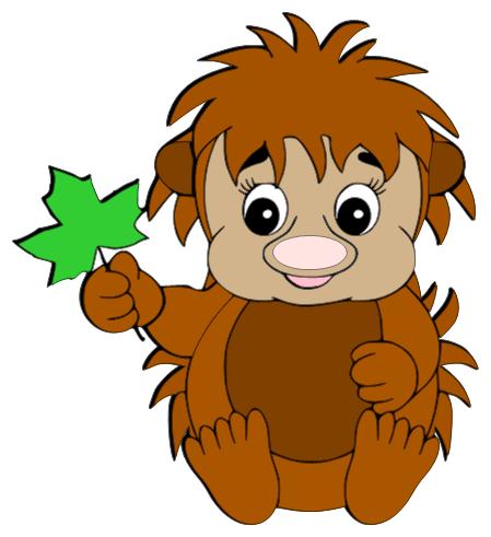 CREATING IN PARADISE: Baby Hedgehog.