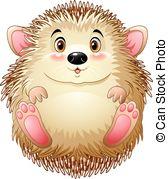 Baby hedgehog Clip Art Vector Graphics. 532 Baby hedgehog EPS.