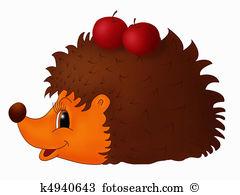 Hedgehog Illustrations and Stock Art. 592 hedgehog illustration.