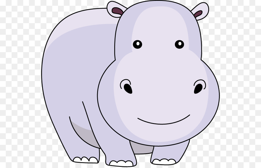 Baby hippo clipart 4 » Clipart Station.