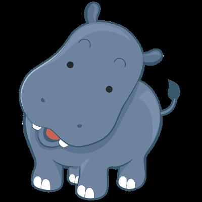 Clip Art Hippo.