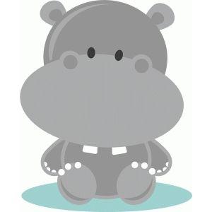 Baby hippo.
