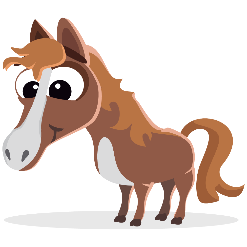 baby horse clipart clipground
