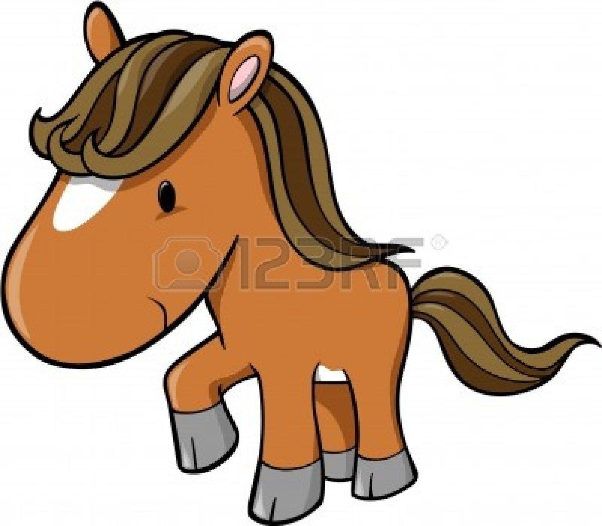 Cute Baby Horse Clipart.