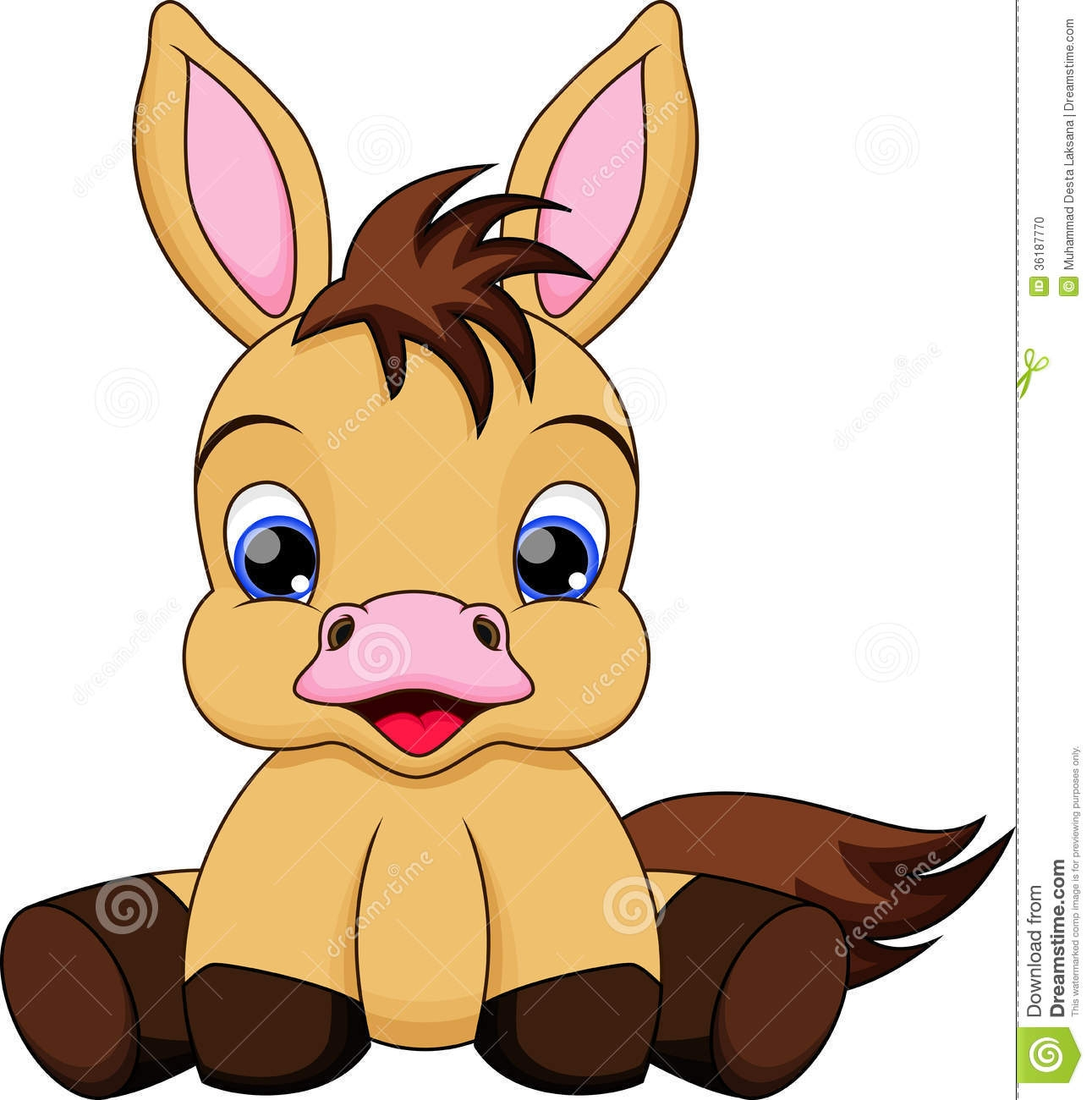 Showing post & media for Cartoon baby horse clip art.