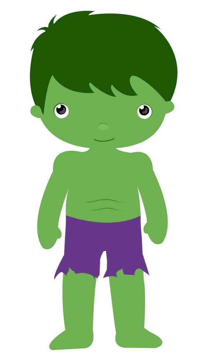 Hulk Cartoon Clipart.