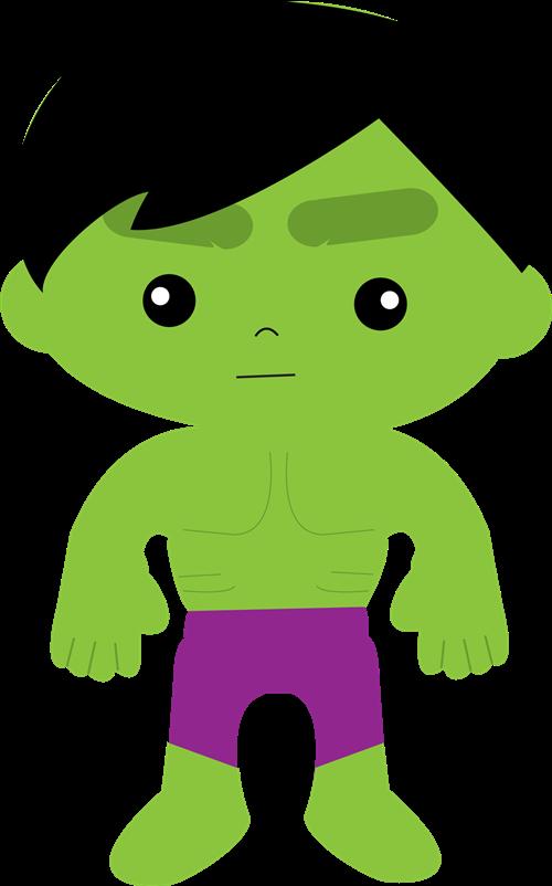 Hulk Superhero Clipart.
