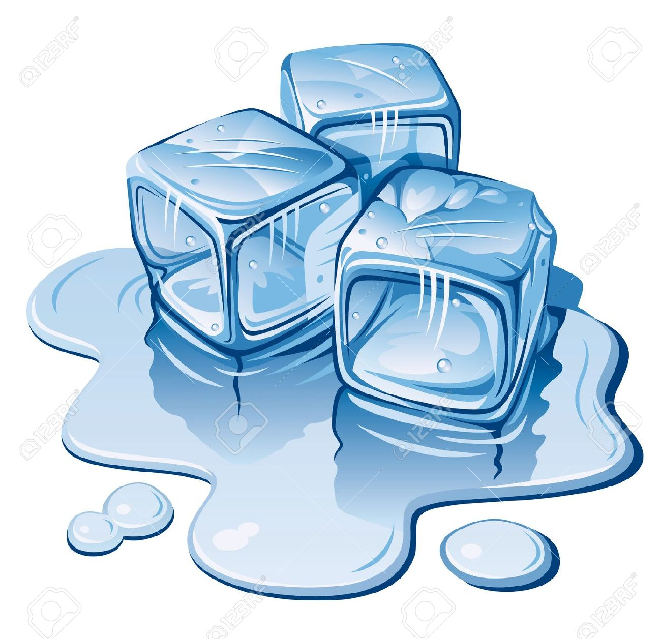 Cold Ice Clipart.